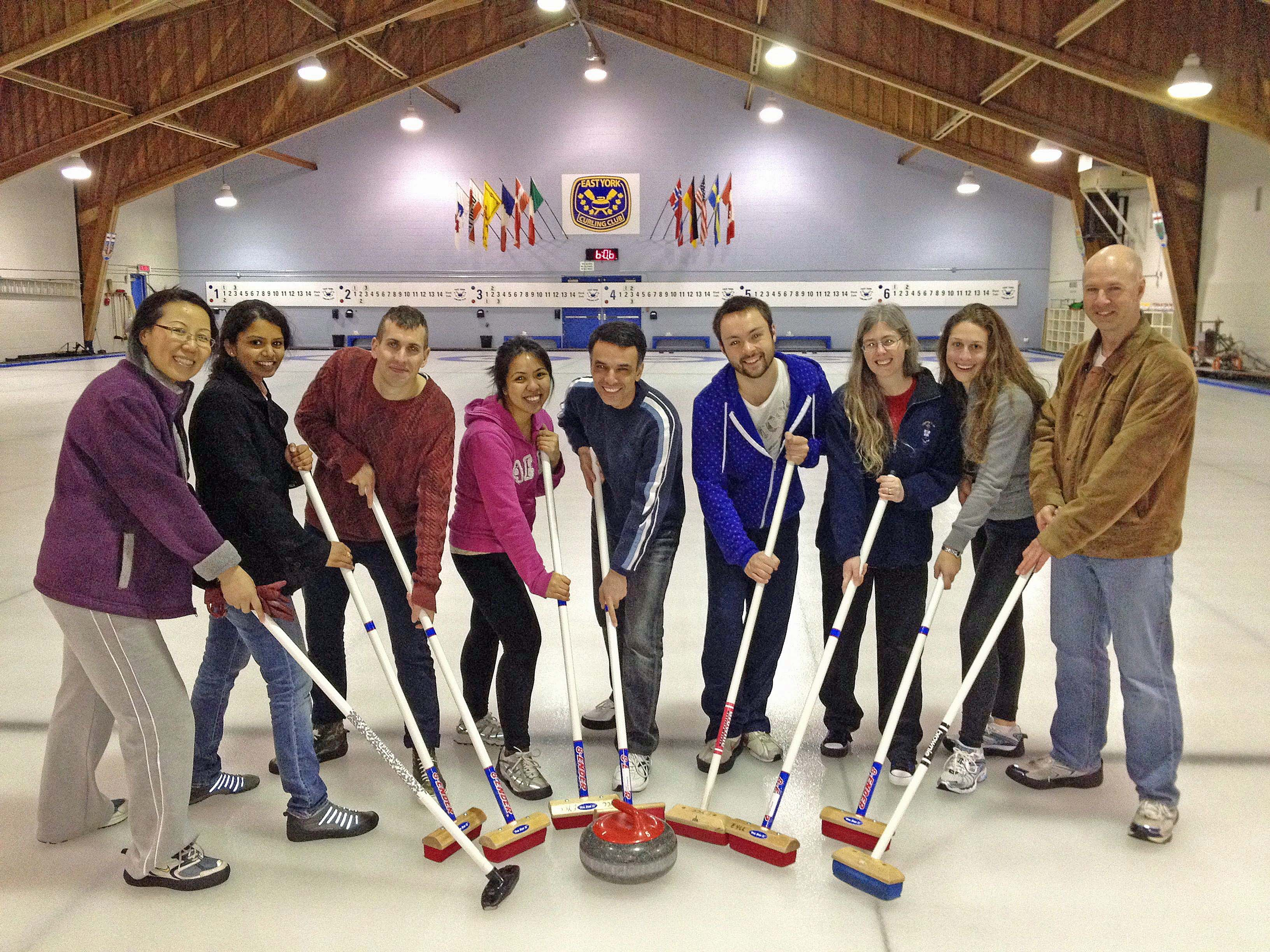 The Derry Lab Curling Team