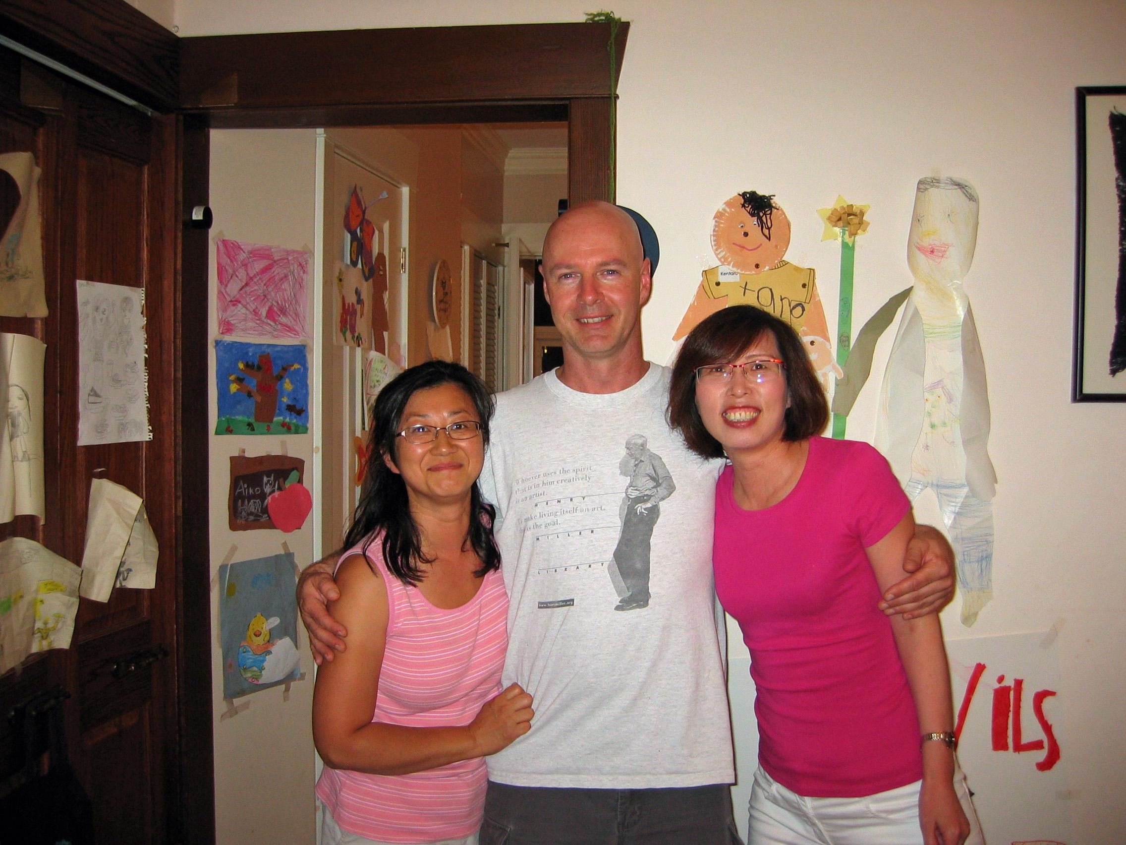 Etsuko, Brent & Mary