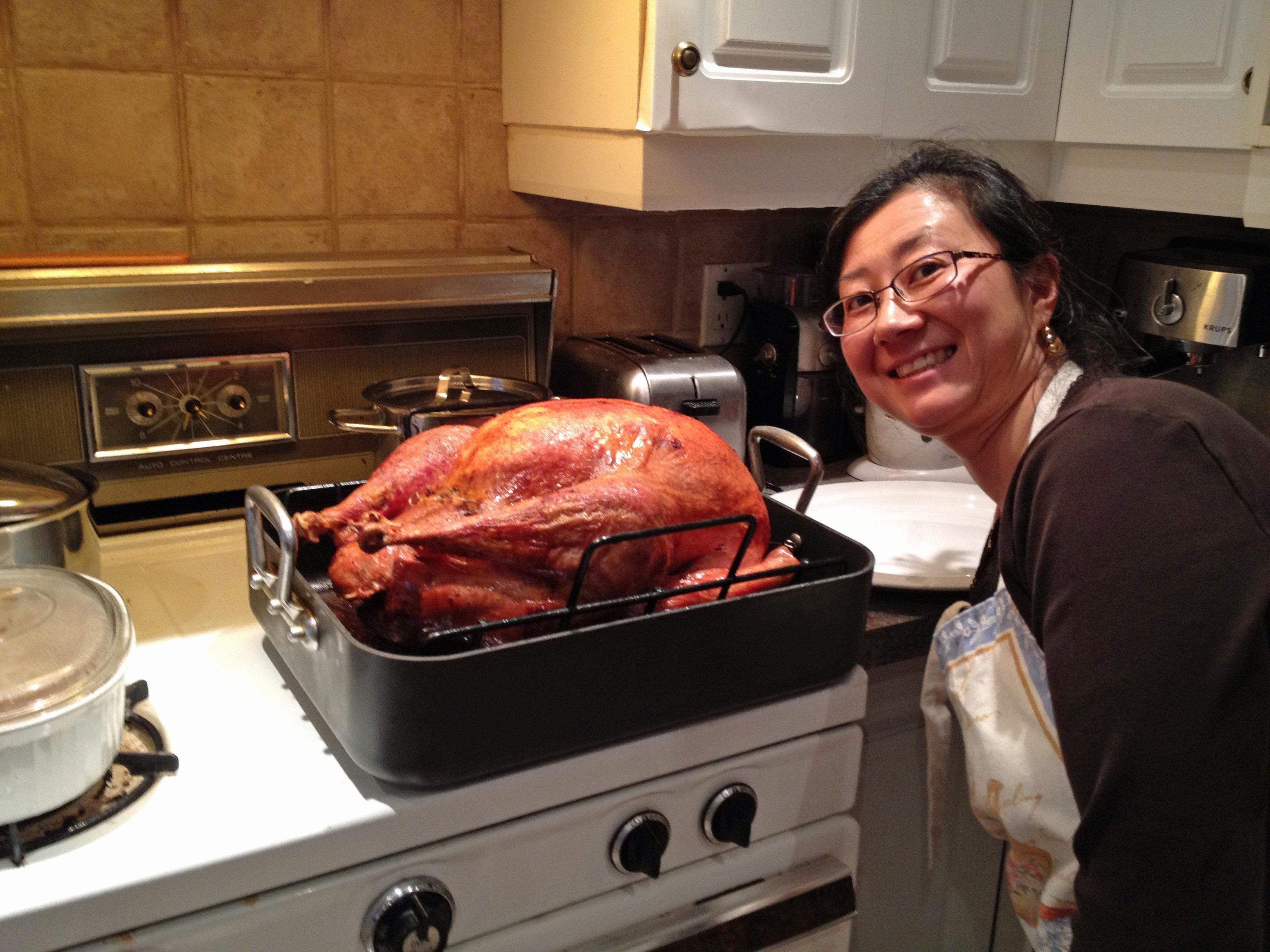 Etsuko's awesome turkey