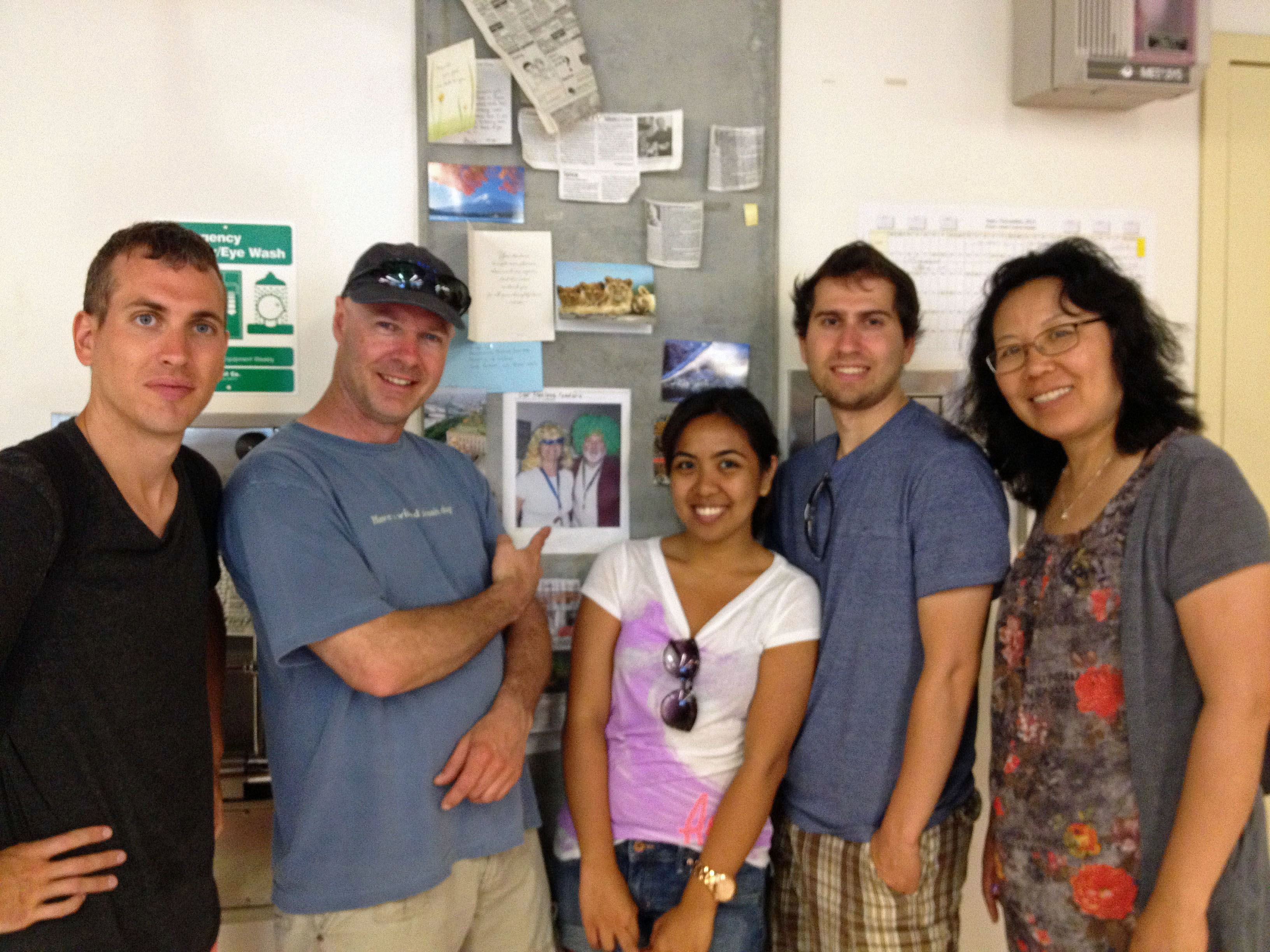 Visit to UCSB, Brent's old PhD lab