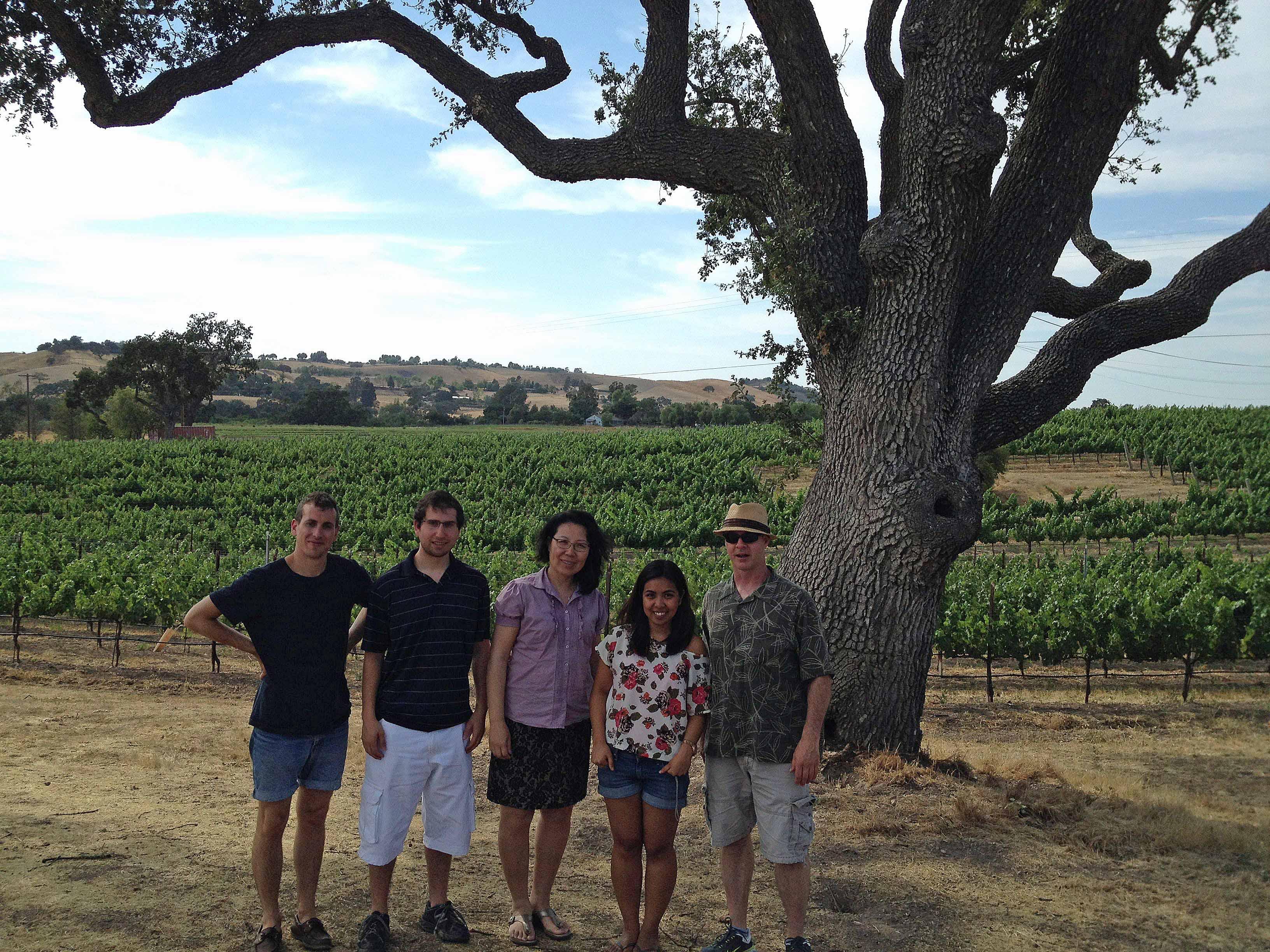 Visiting a winery at Santa Barbara County