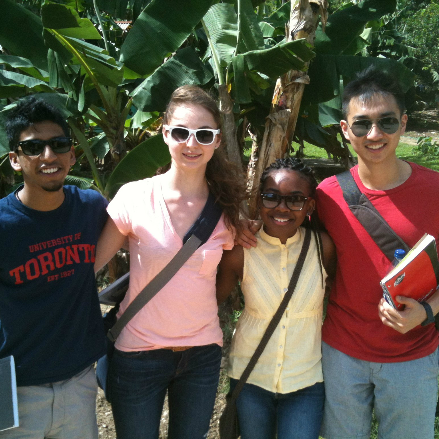 Student research team in La Romana, Dominican Republic, February 2014.