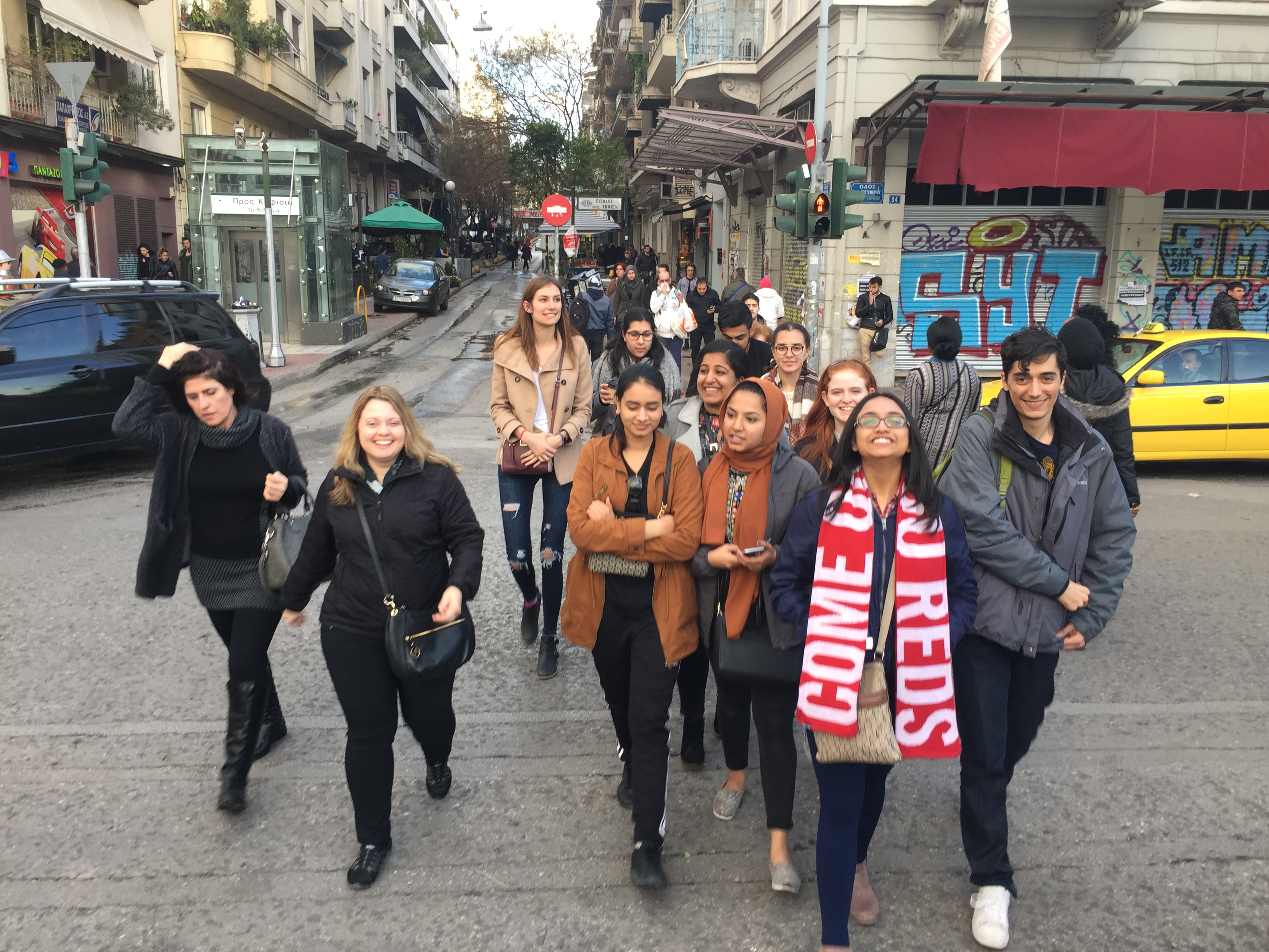 Athens Walking