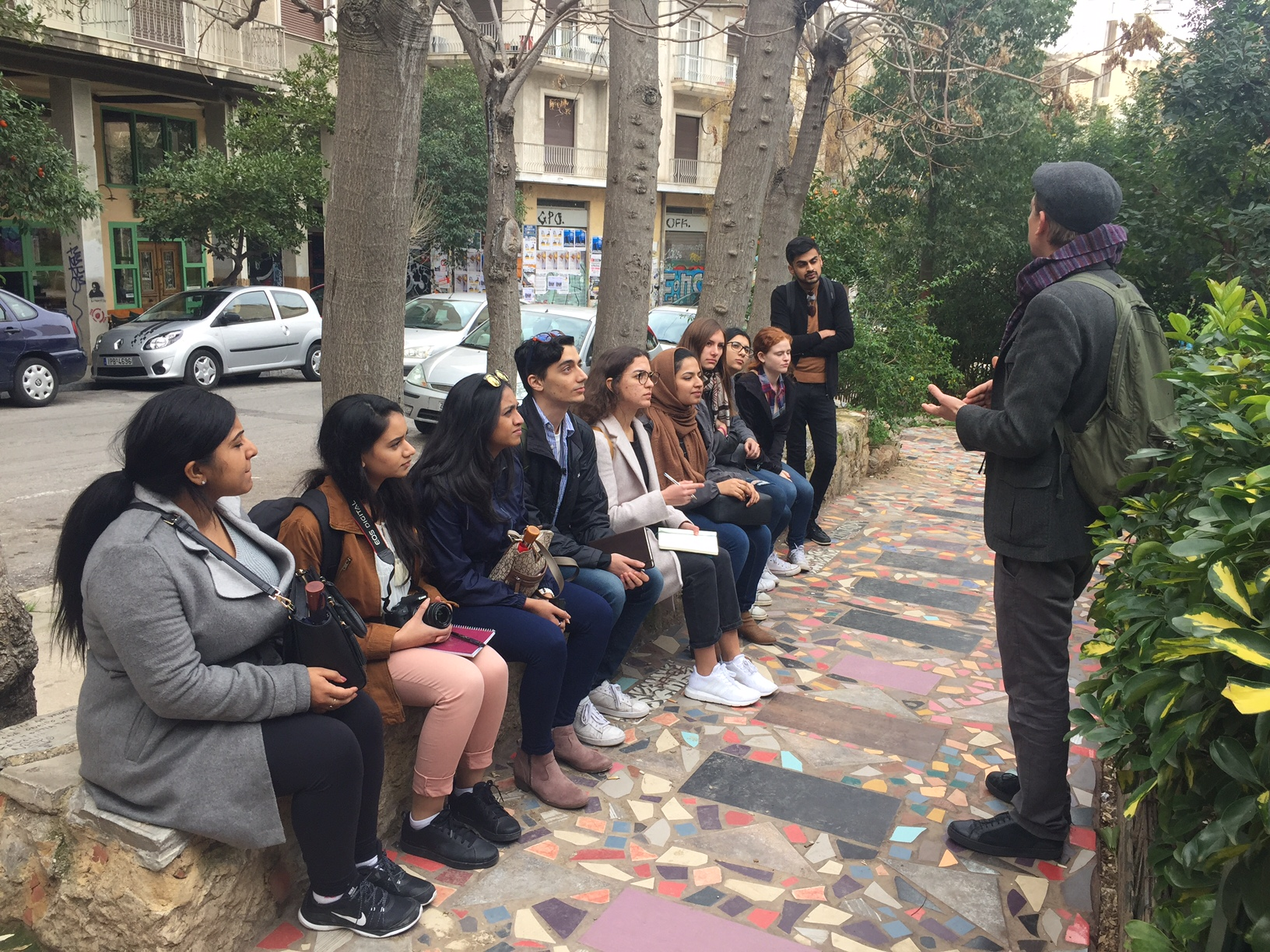 Social Movements Tour of Athens