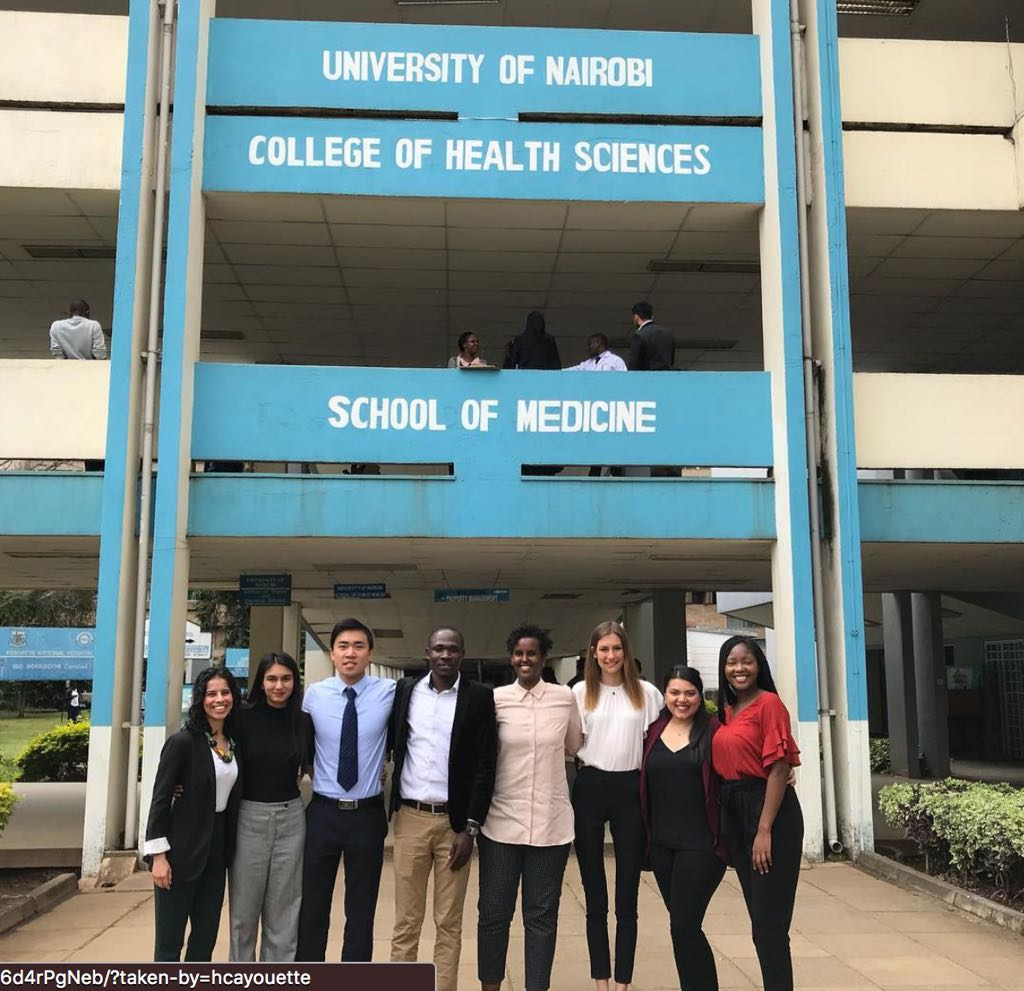 Group photo of 2018 QE Scholars in Nairobi.