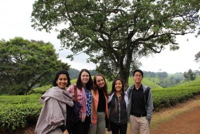 Exploring Kenya.