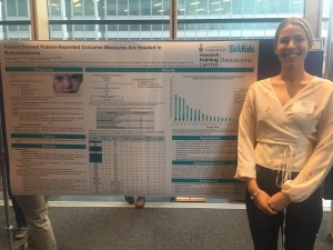 Ana presents at Cancer Research Day