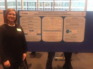 Ivana presents at Cancer Research Day