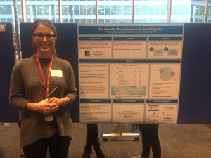 Stephanie presents at Cancer Research Day