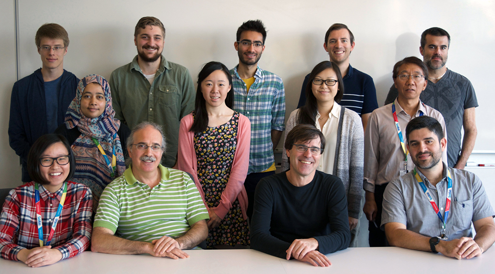 Ellis Lab group photo - October 2017