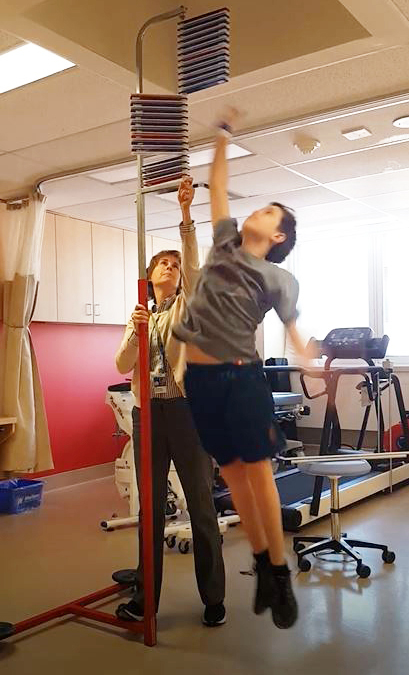 study participant vertical jump