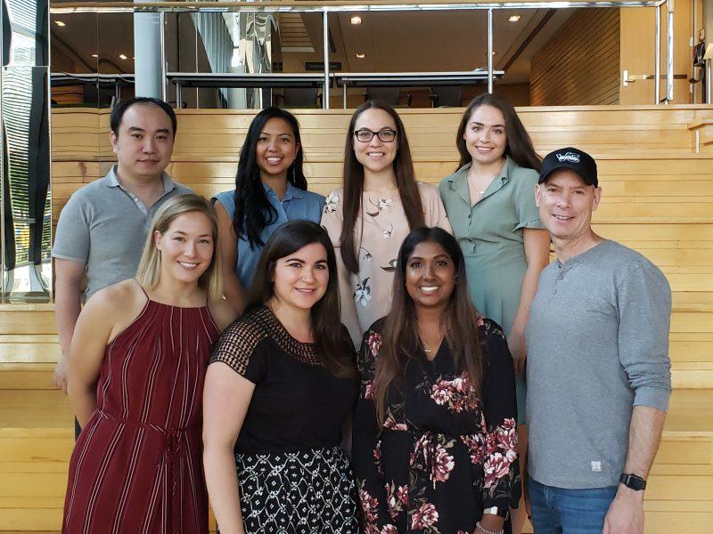 Group photo of Feldman Lab team members