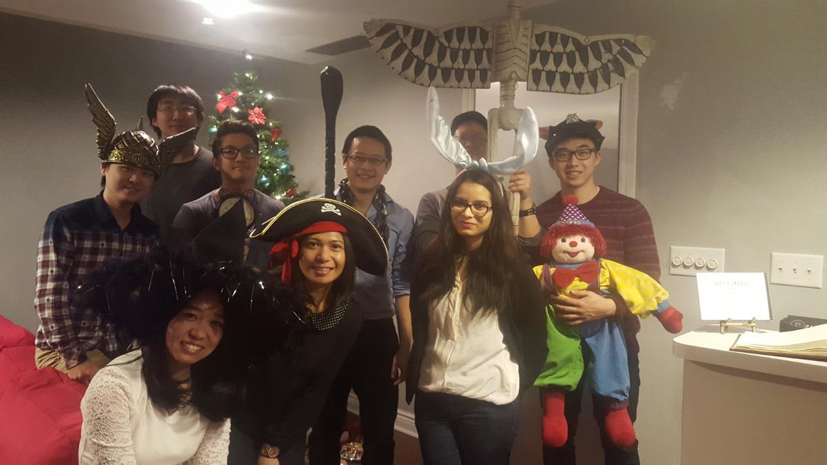 Escape room - Christmas 2015