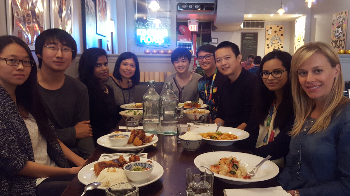 Lab lunch - October 2015