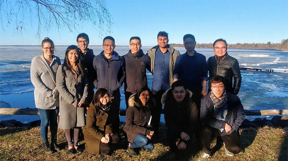 DSCB Program retreat at Lake Simcoe - April 2019