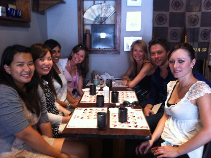 Photo of Lunch at Japango, Summer 2012
