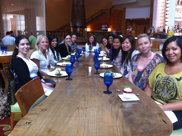 Photo of iOuch lab Lunch at Trios Bistro, Summerlicious 2012