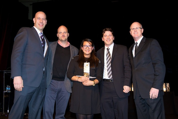 Photo of Canadian Marketing Association Awards – Gold in Customer Management, 2012