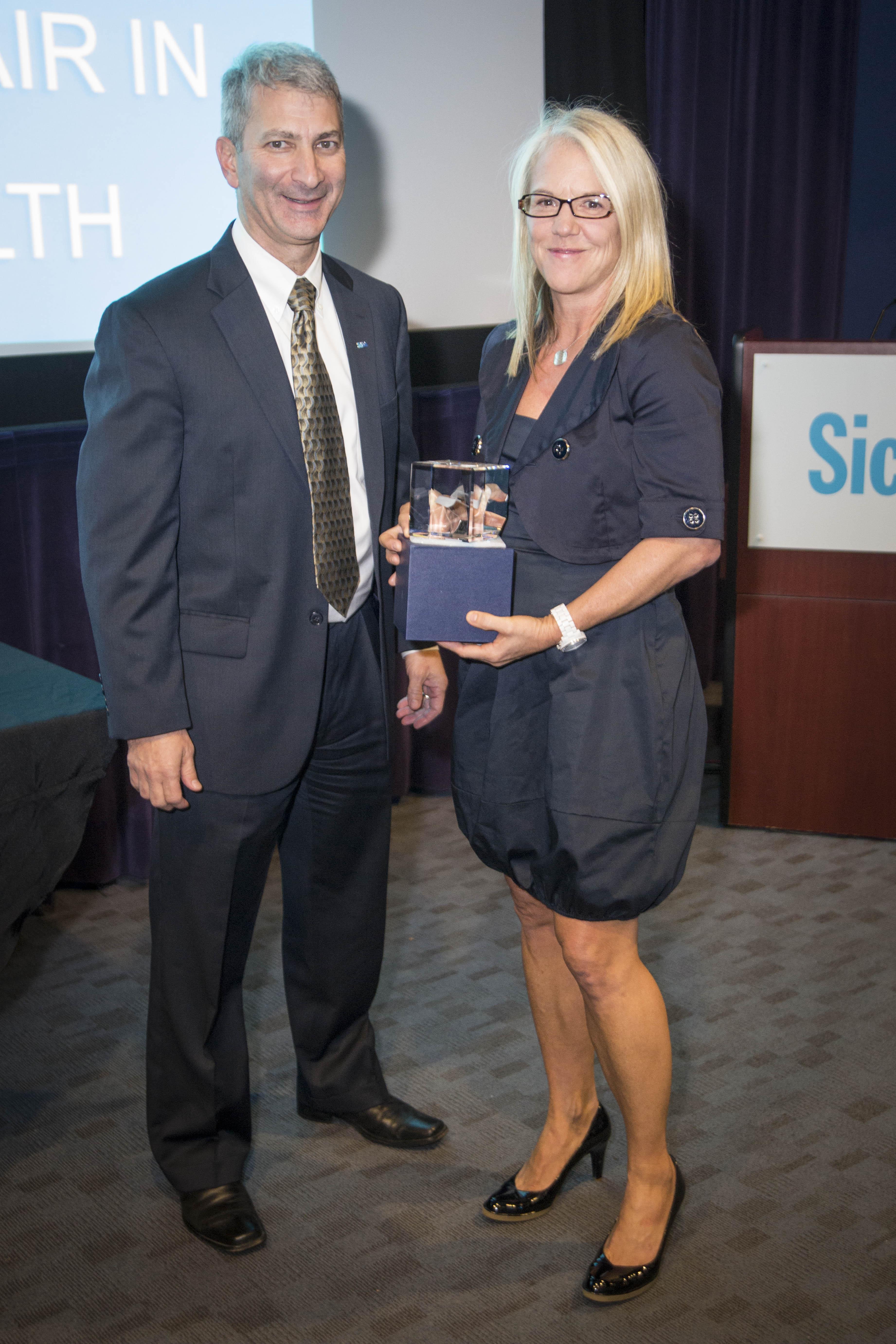 Photo of Mary Jo Haddad Award