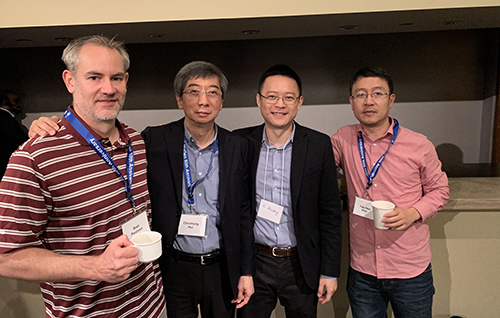 DSCB members at the MoGen 50th anniversary symposium