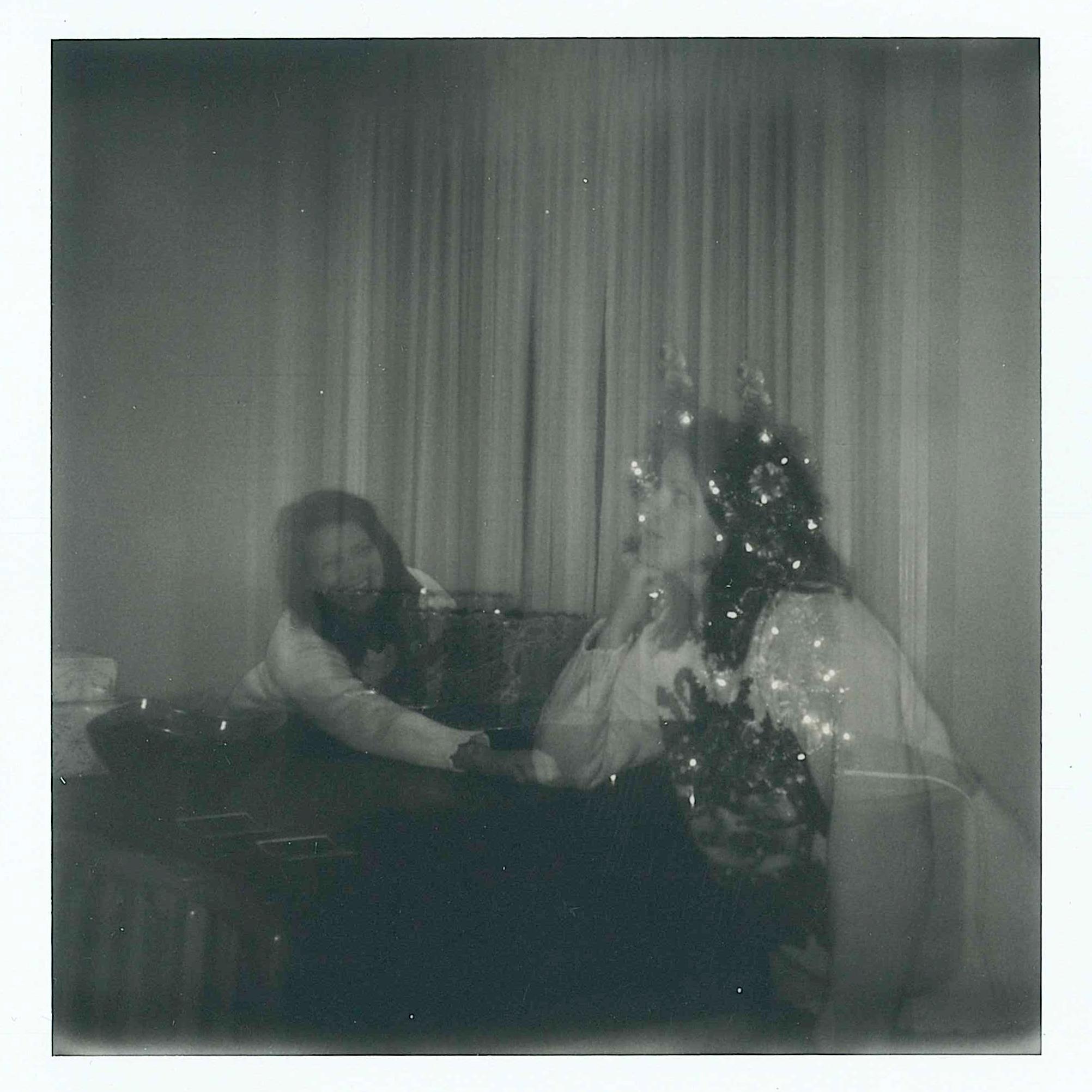 Christmas Polaroids 2018 - double exposure