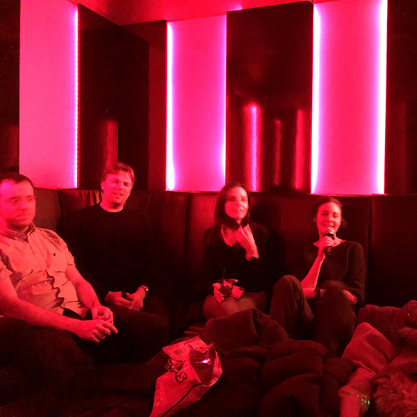 Christmas Karaoke 2018 (visit from Gianluca)
