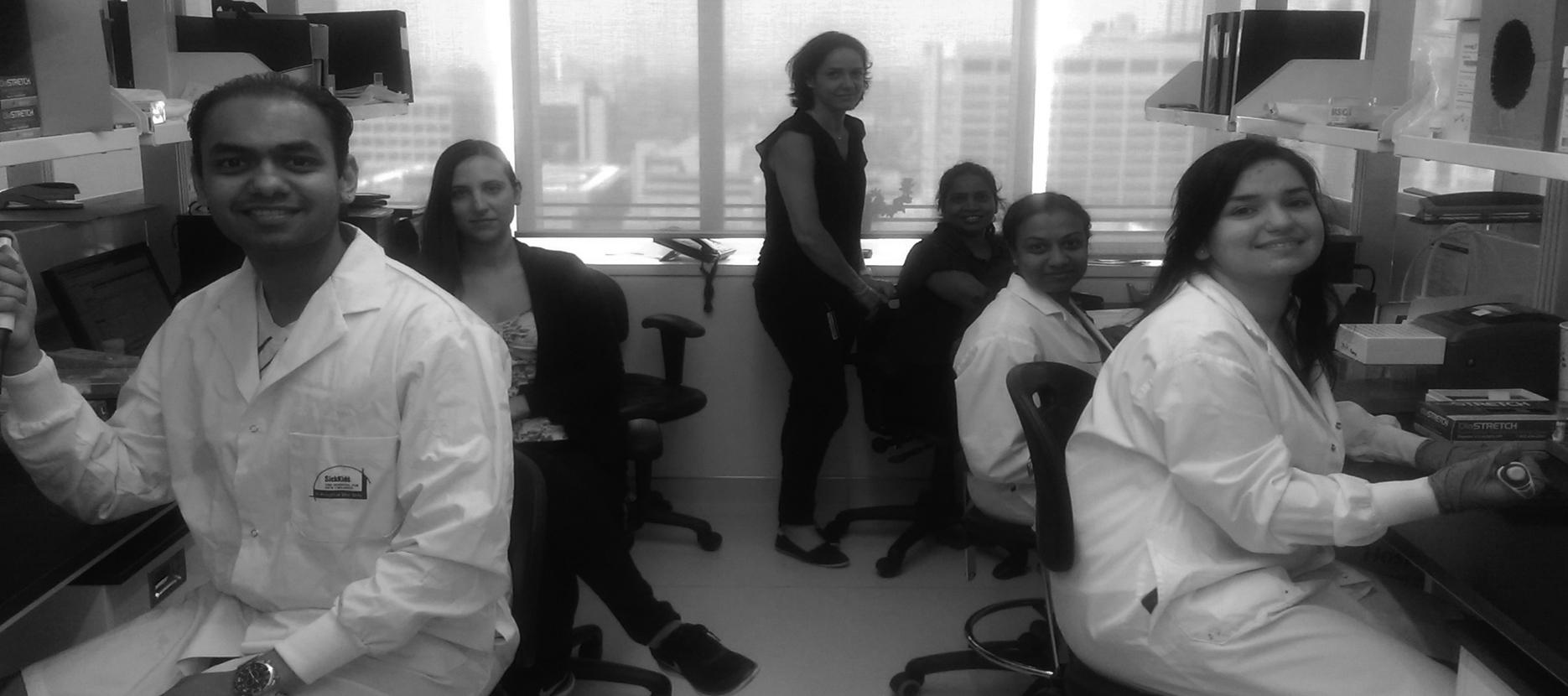 Laboratory members May 2016