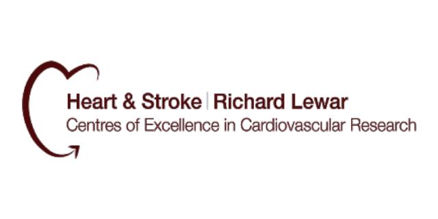 Heart & Stroke/Richard Lewar Centre of Excellence - Logo