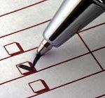 Image of a checklist