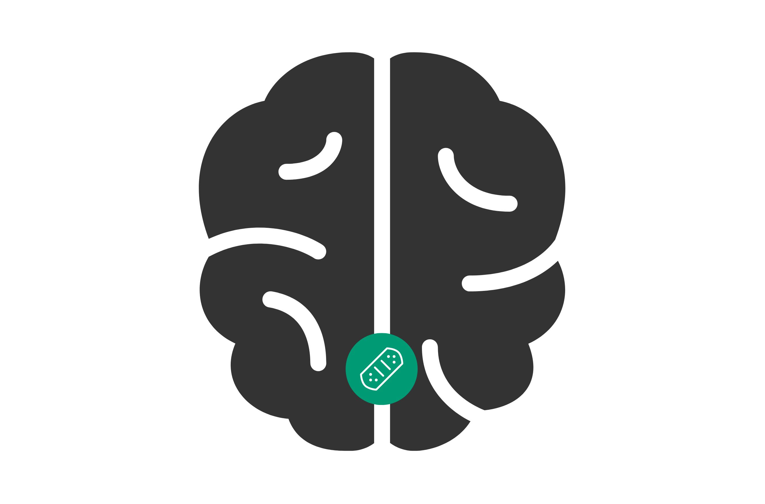 Brain tumour cartoon