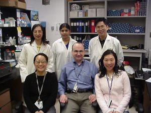 Members of the Rosenblum Lab in 2004