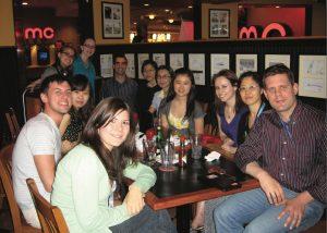 Members of the Rosenblum Lab in 2010