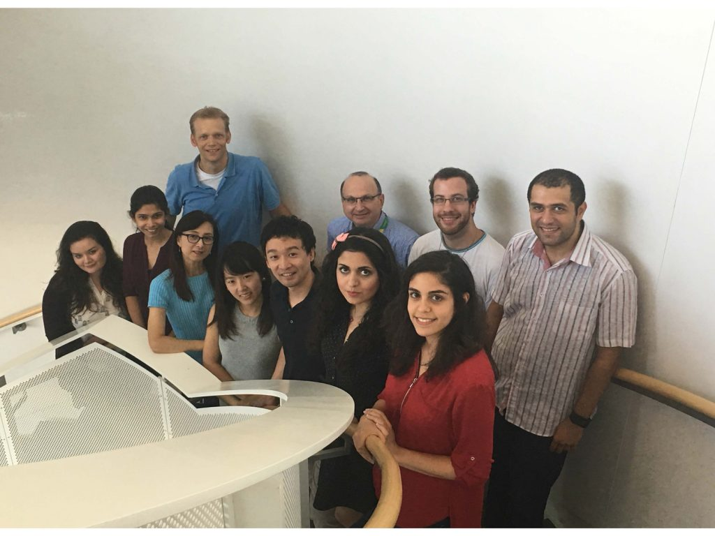 Members of the Rosenblum Lab in 2016