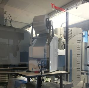 Photo of the High-Throughput Screening Lab