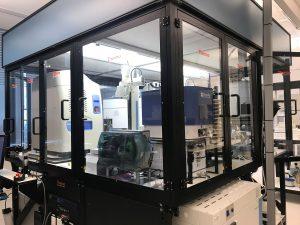 Photo of the High-Throughput Screening Lab