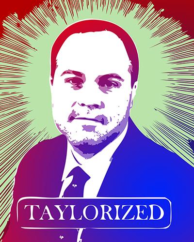 Michael Taylor portrait