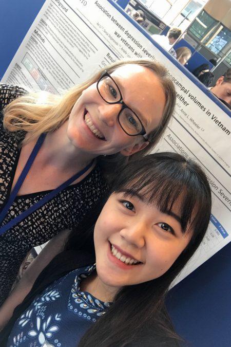 (left to right : Dr. Anne Wheeler & An Li)